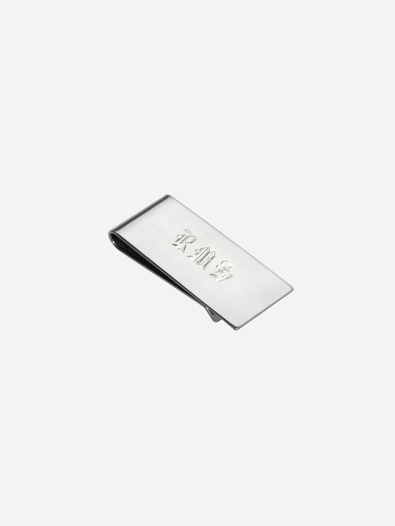 Money Clip Monogram
