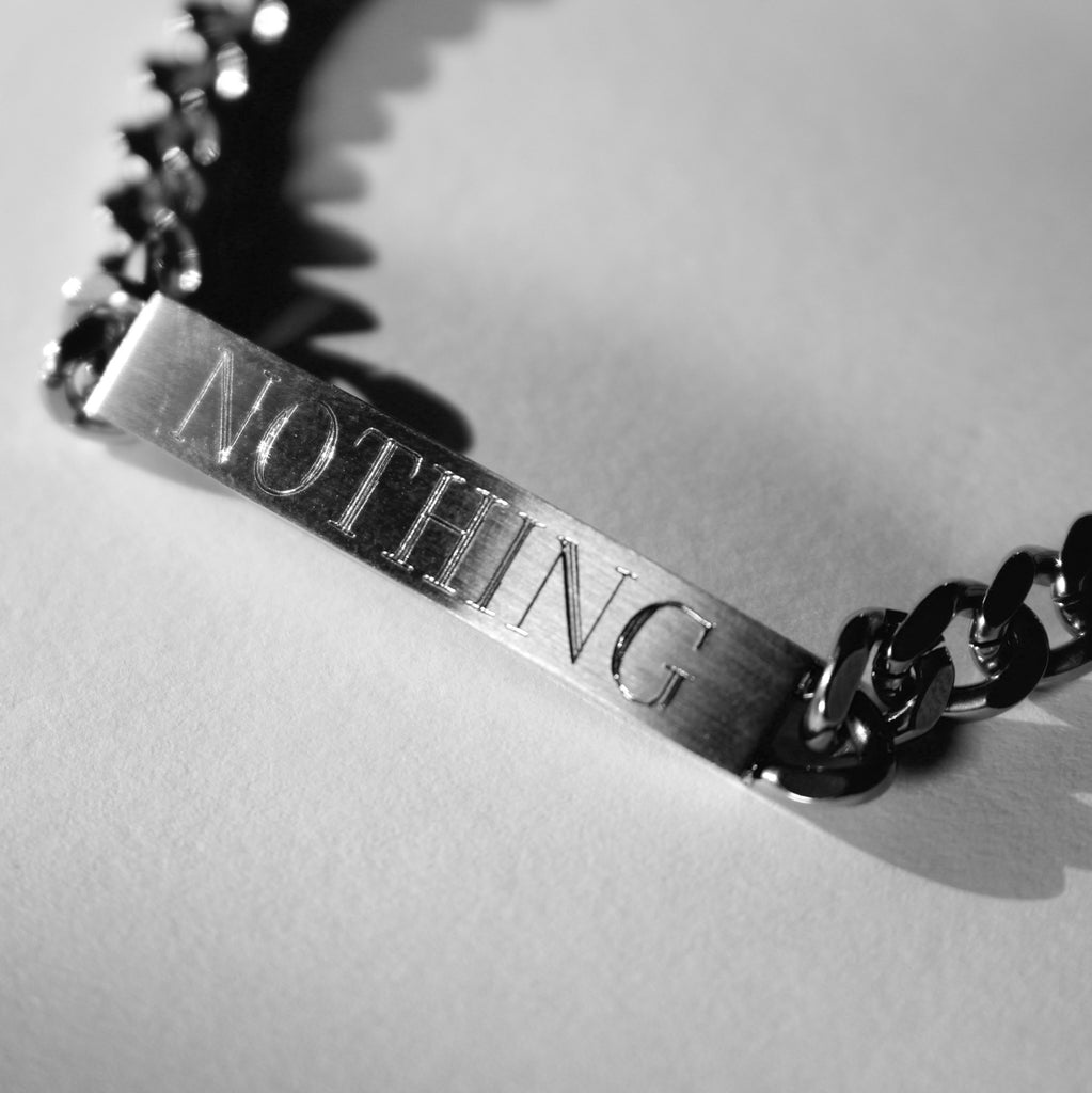 NOTHING ID BRACELET - THE ACADEMY NEW YORK