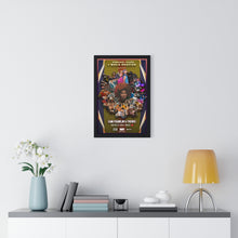 Load image into Gallery viewer, Southern Friends Premium Framed Poster (Black)