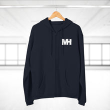 Load image into Gallery viewer, Musik Houston Unisex Zipped Hoodie