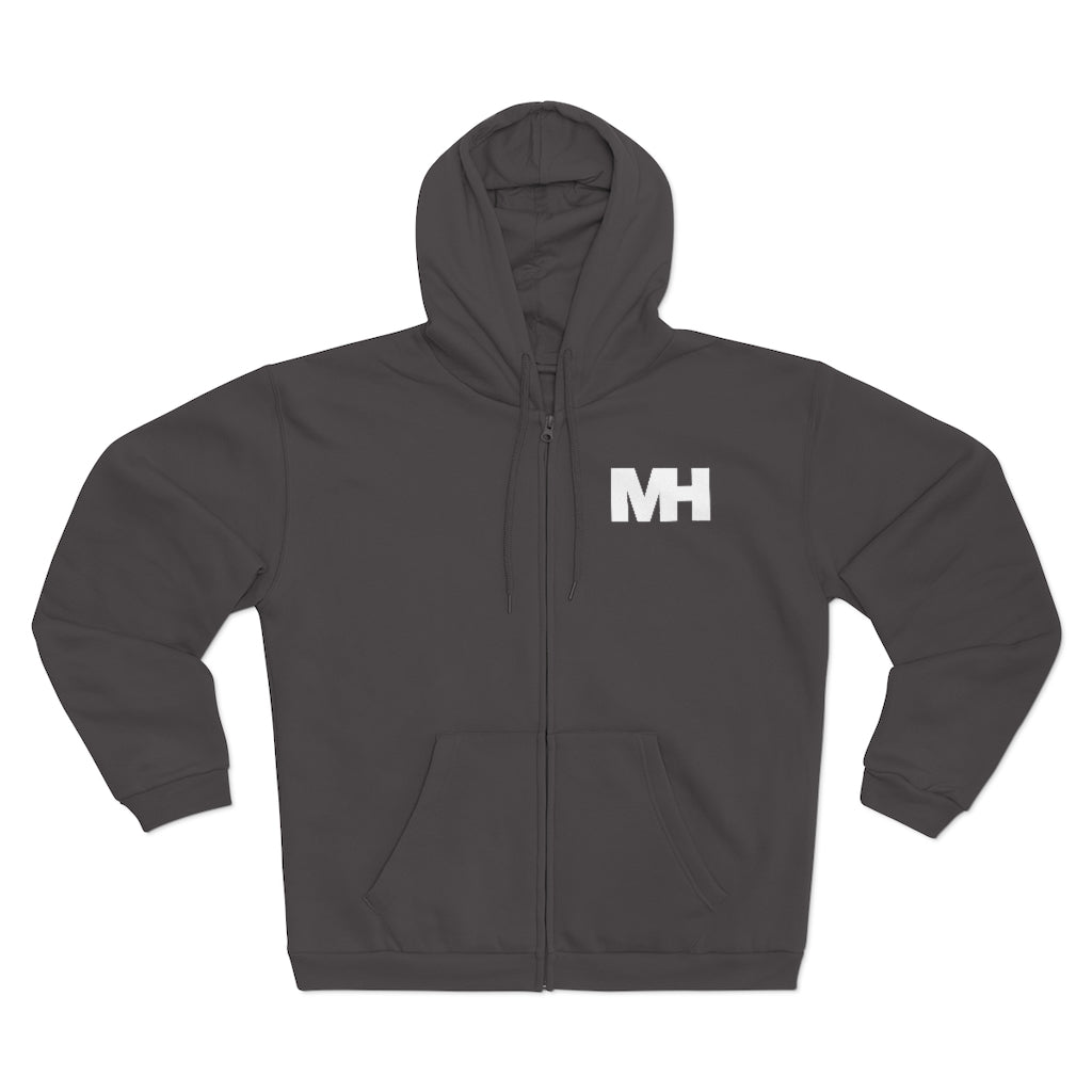 Musik Houston Unisex Zipped Hoodie