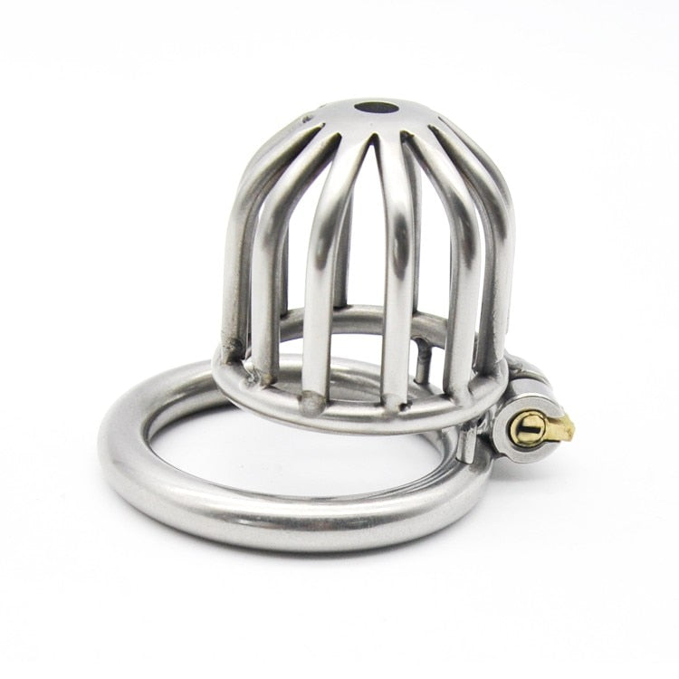 Stainless Steel Short Chastity