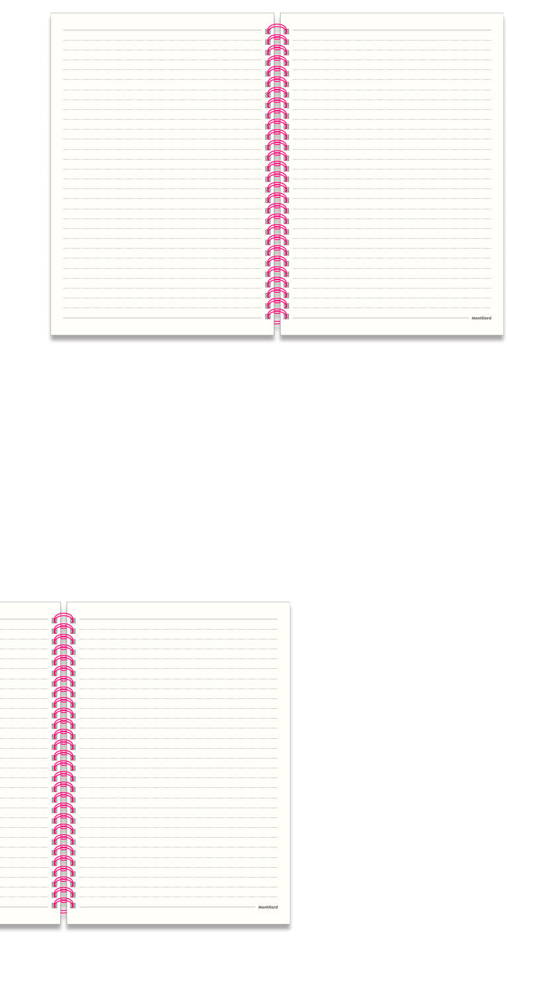 B5 Spiral Notebook  No Bleed   Language Learning   School Supplies