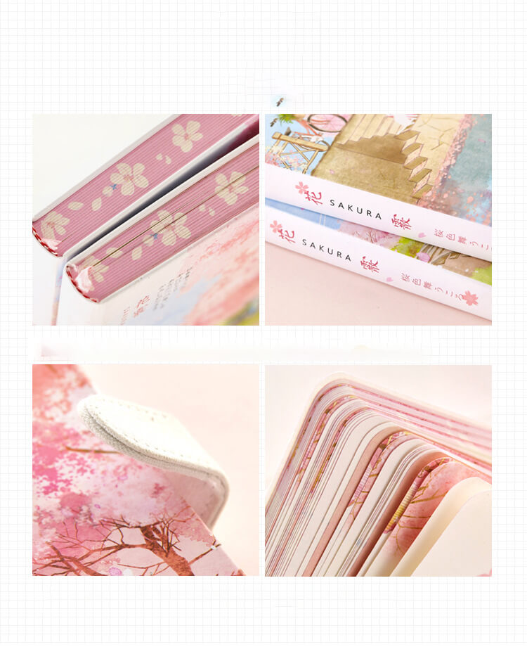 Colorful Inside Pages Magnetic Snap Planner