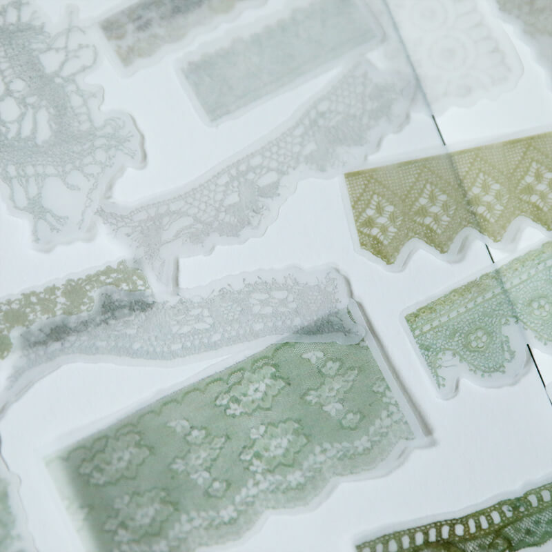 Vintage Lace Themed Sticker Series-2