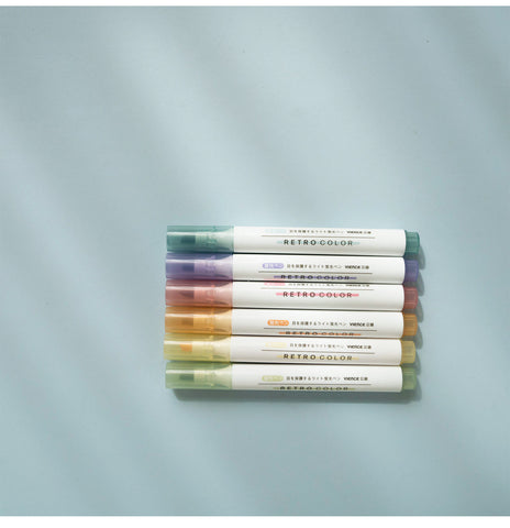 6 Colors Large Capacity Ink HighLighter
