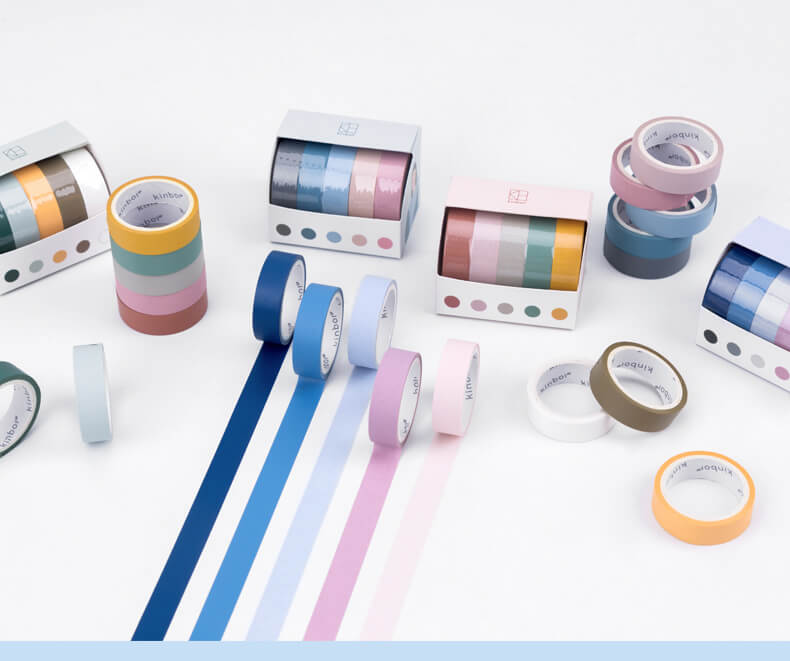 Solid Colors Washi Tape Set