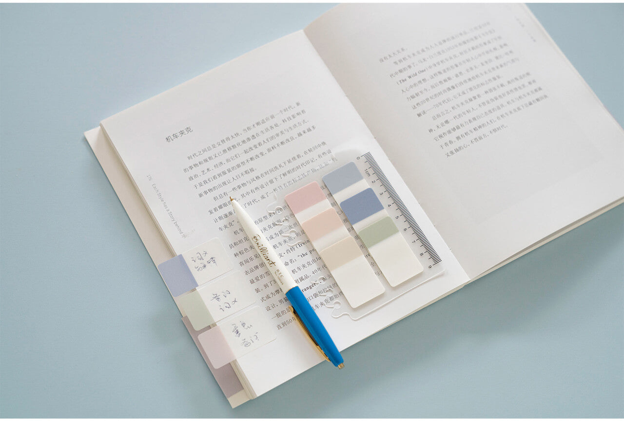 Double Color Index Sticker Note