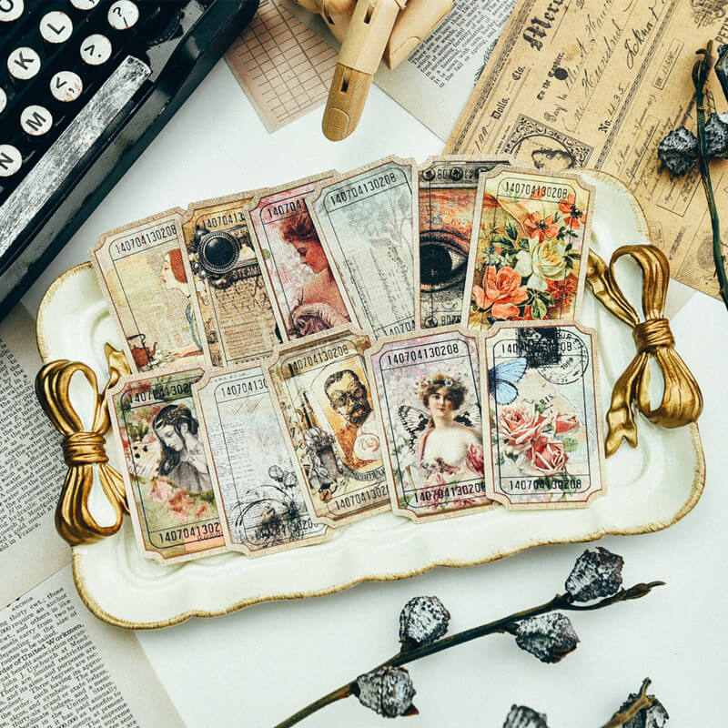 Lebel Bookmark Mixed Paper Pack