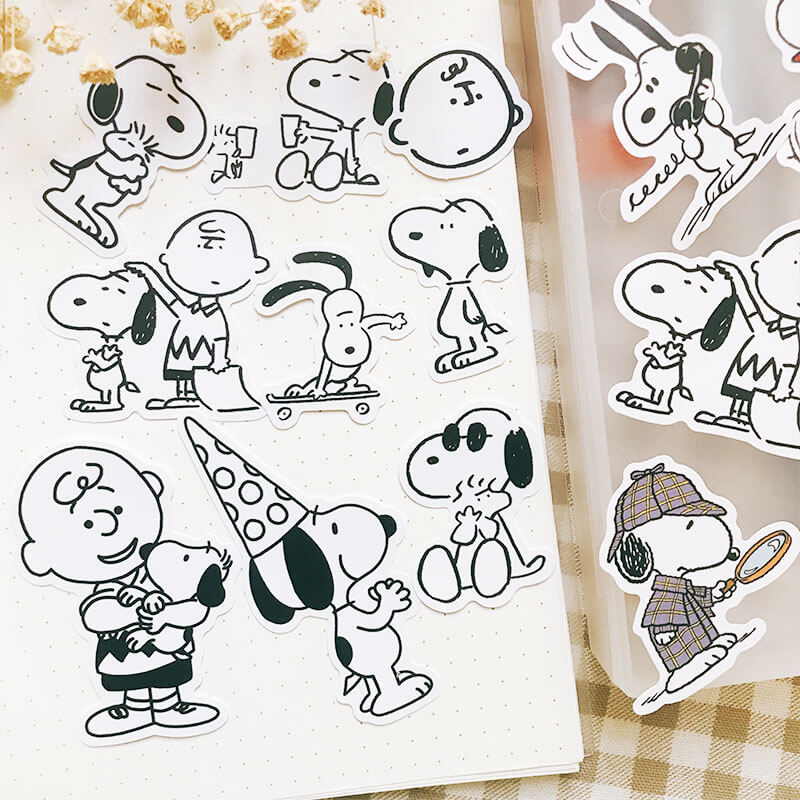 Snoopy Themed Sticker