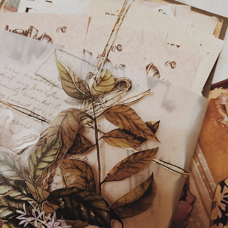 Vintage Coffee Themed Package