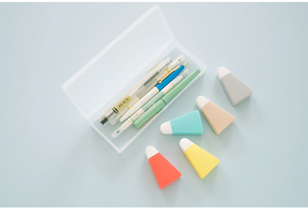 Colorful Cute Correction Tape with Pen Case