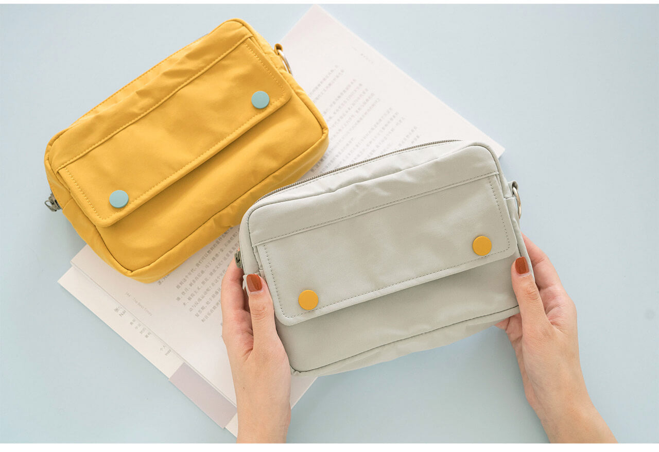 Covered Button Storage Bag