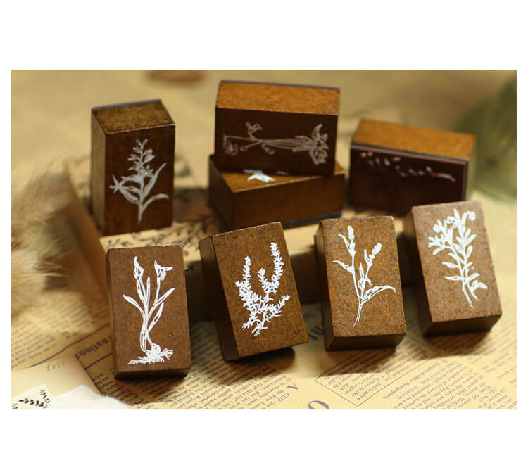Green River Grass Wooden Stamp