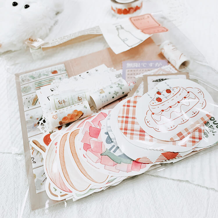 Picnic Milk Cookies Themed Package