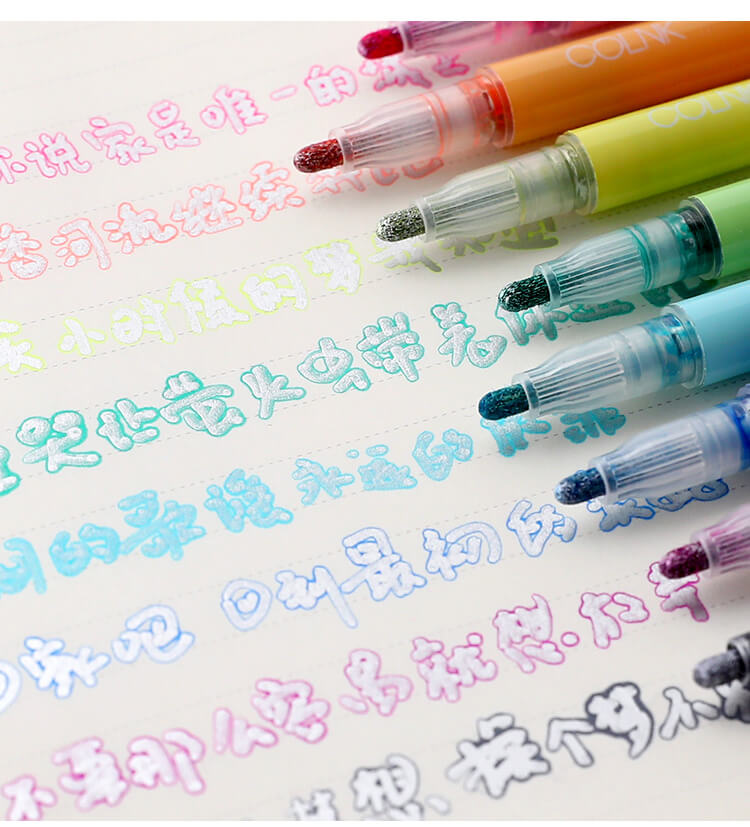 Creative Double Color Marker