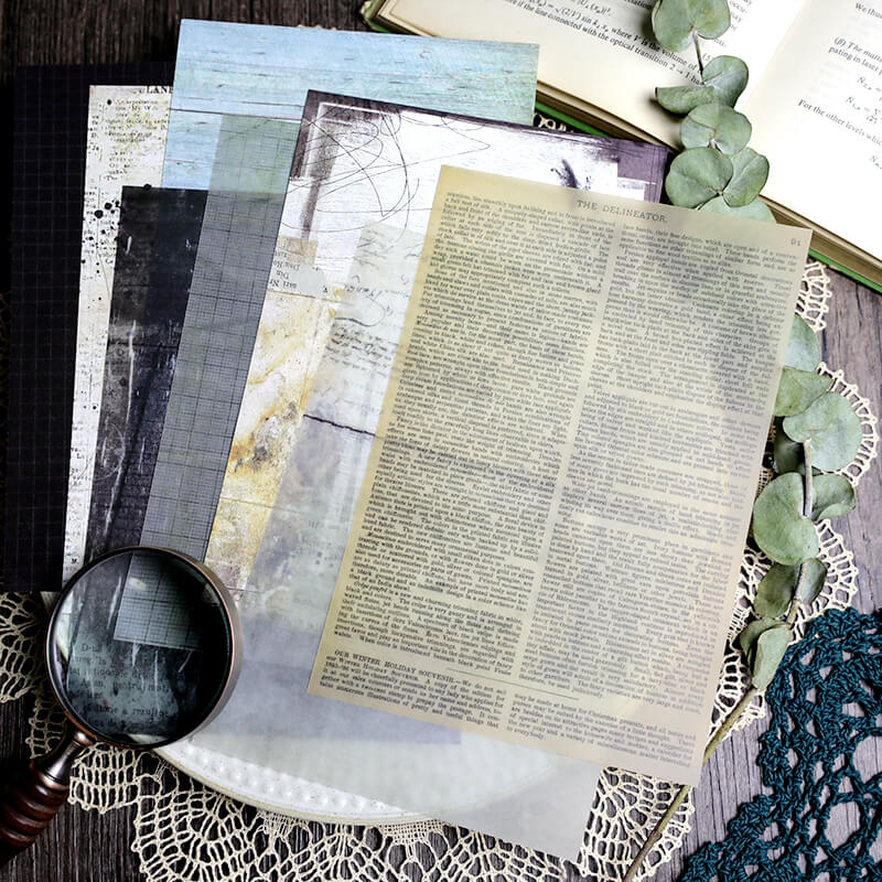 Vintage Junk Journal Kit Pack