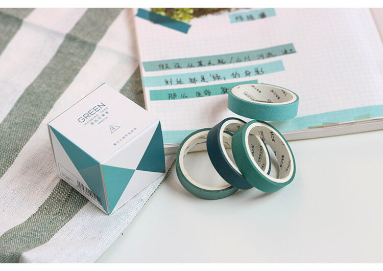 Cold Colors Washi Tape Set