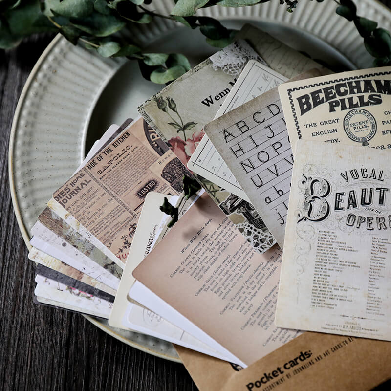 Vintage Newspaper Musical Themed Paper Pack