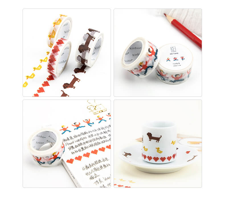 Pixel Washi Tape Set