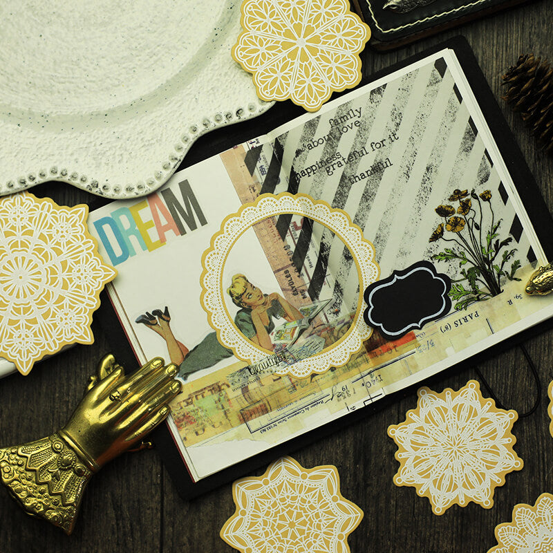 Vintage Memory Themed Sticker Papaer Pack