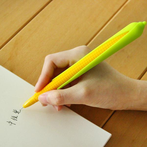 1 Piece 0.5mm Corn Soft silicone Gel pens Writing & Drawing kiniyo stationary 4064p
