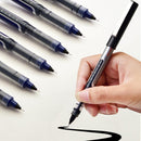 12pcs 0.5mm Straight Liquid Roller Ball Gel Pen KINIYO Stationery