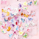 45pcs Butterfly Park Boxed Sticker KINIYO Stationery