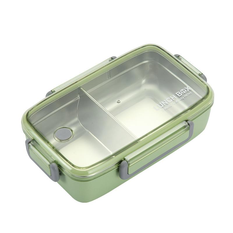 Bamboo Fiber 304 Stainless Steel Inner Bento Lunch Box