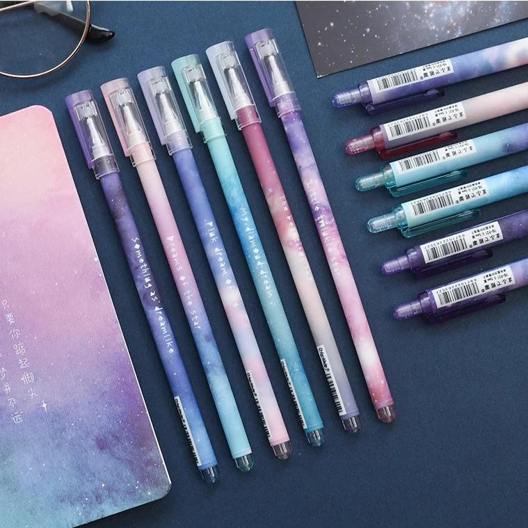 6pcs Starry Sky Pen Set
