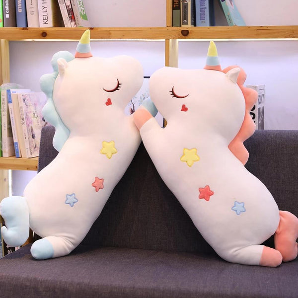 Unicorn Pillow & Blanket Cushion Plush Toy-[variant_title]-MoMoChoice