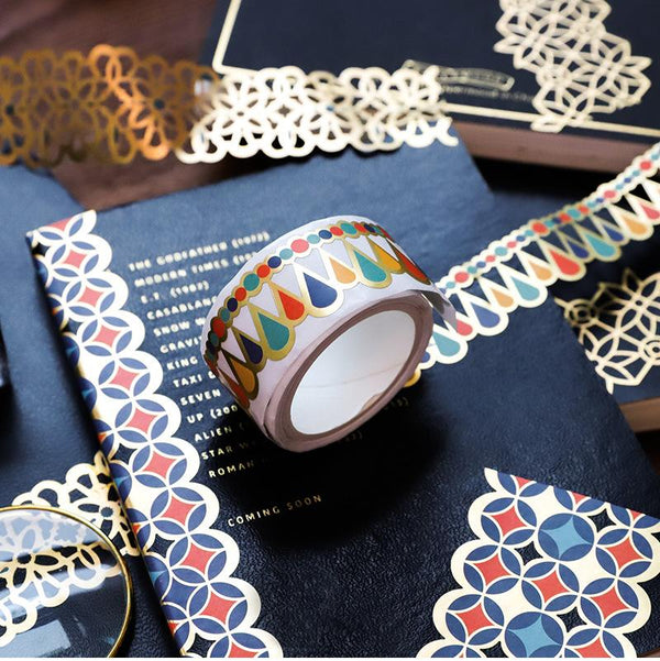 Hollow Vintage Washi Paper Tape