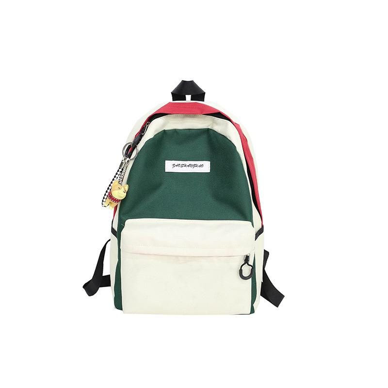 Assorted Colors Multi-pocket Travel Canvas Backpack KINIYO Stationery