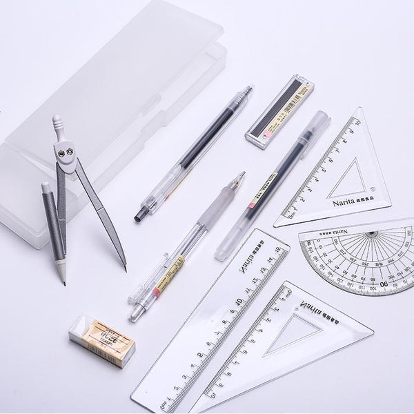 12pcs Portable Multifunctional Stationery Set