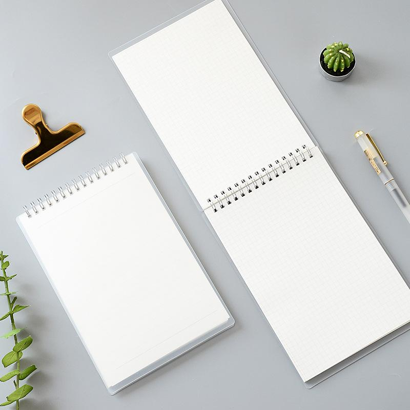 1 Piece 80 Sheets A5/B5 PP Spiral Notebook KINIYO Stationery