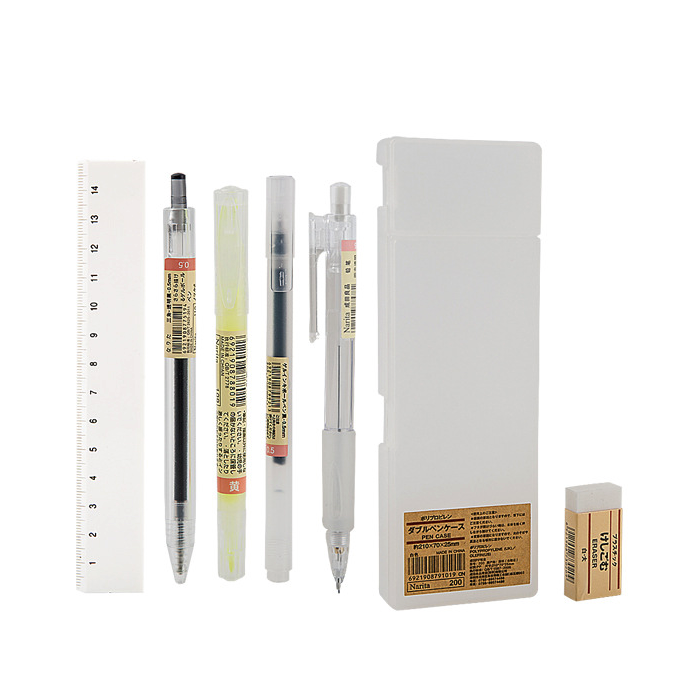 7pcs Portable Convenient Stationery Set