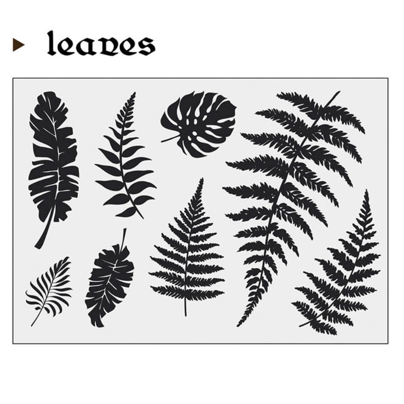Leaves Clear Stamp