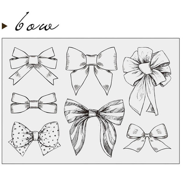Bow Clear Stamp