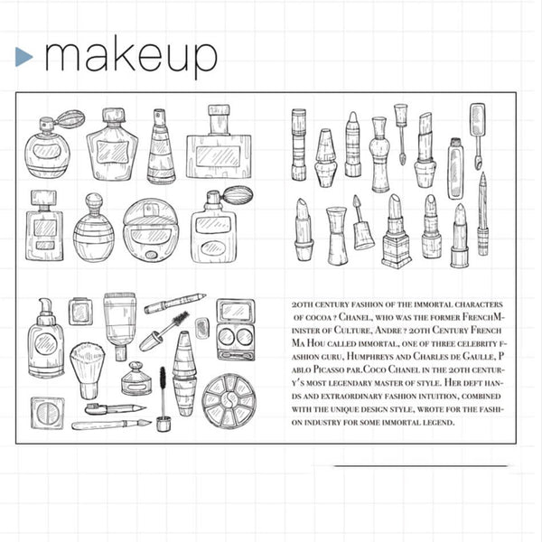 Makeup Clear Stamp