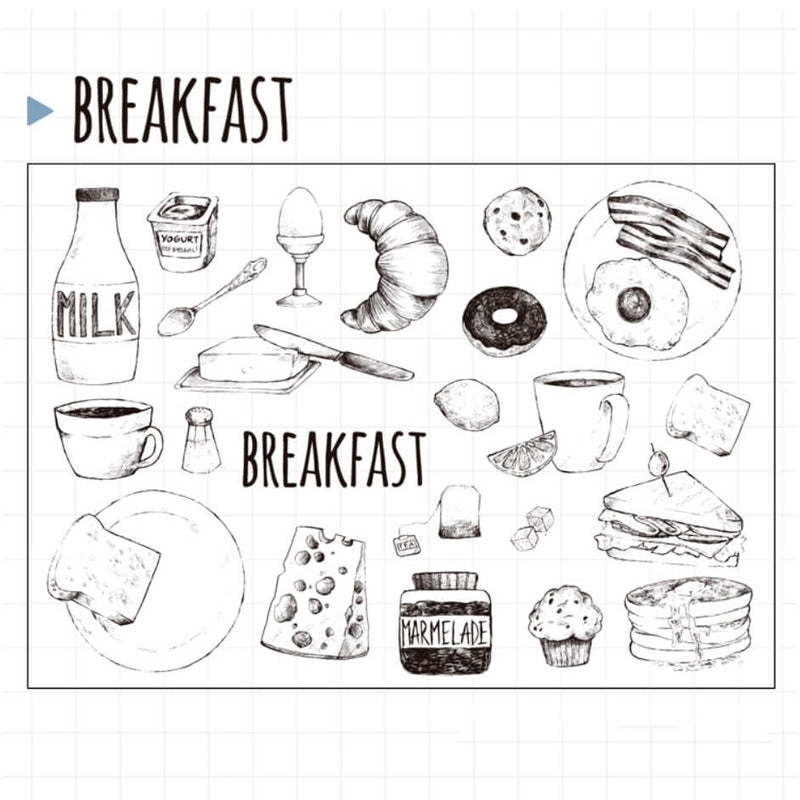 Breakfast Clear Stamp