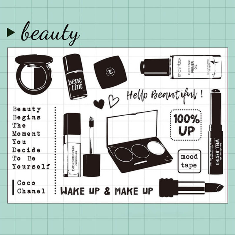 Beauty Clear Stamp