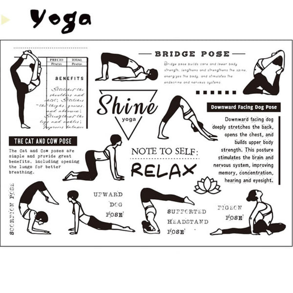 Yoga Clear Stamp