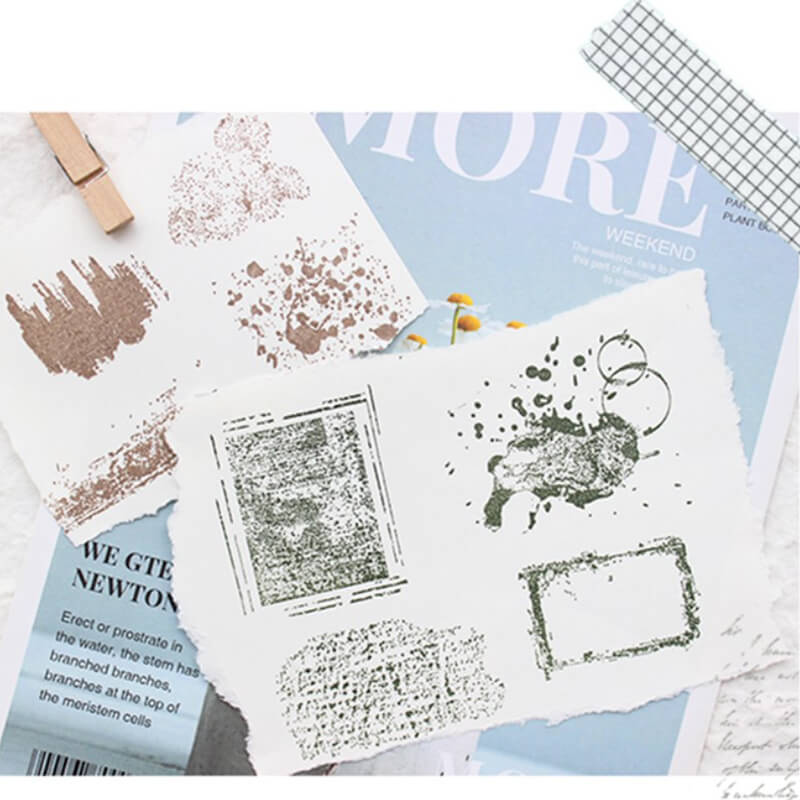 Mottled Clear Stamp