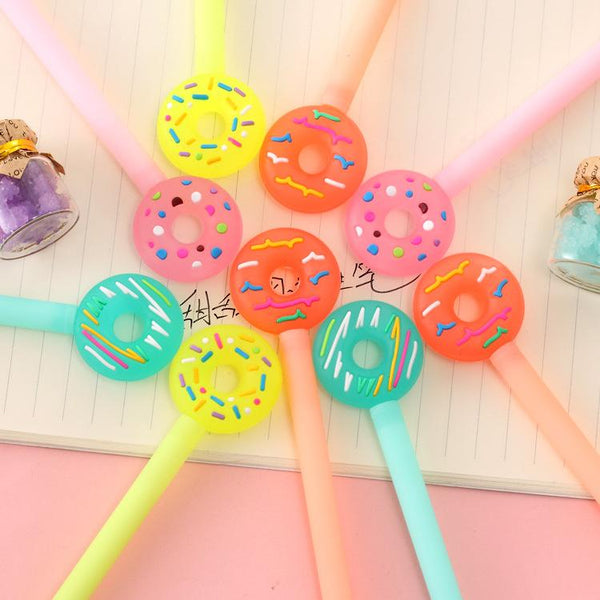 1 Piece Donut 0.38mm Gel Pen KINIYO Stationery