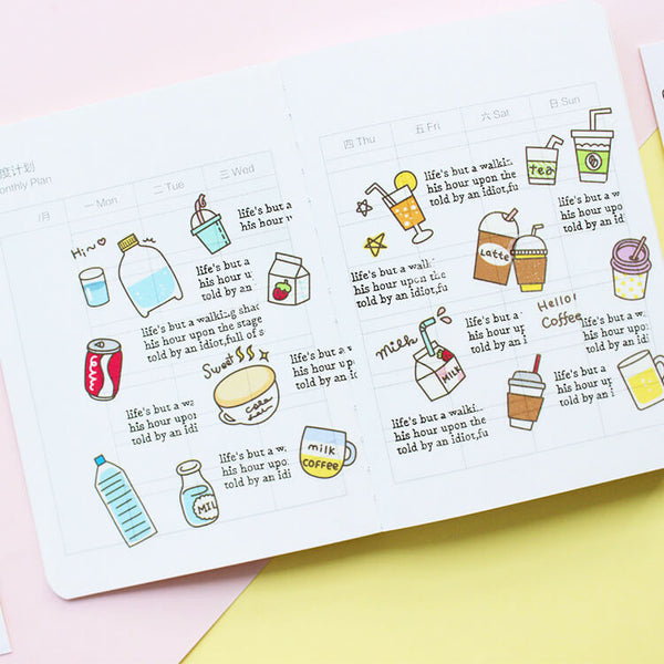 Food and Drink Washi Tape