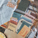 Vintage Tickets Receipts Themed Package