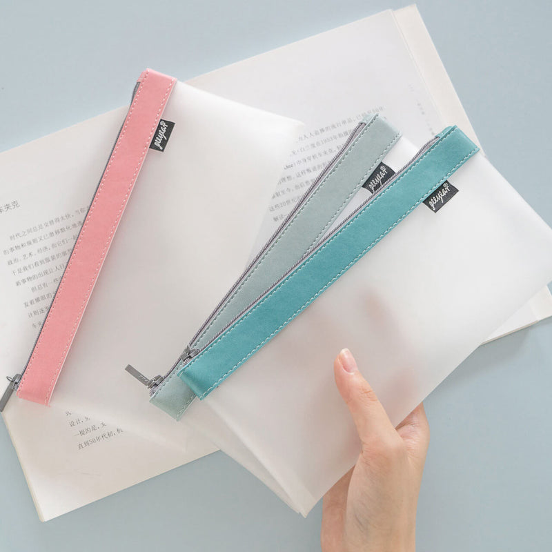 Transparent Matt Pen Case