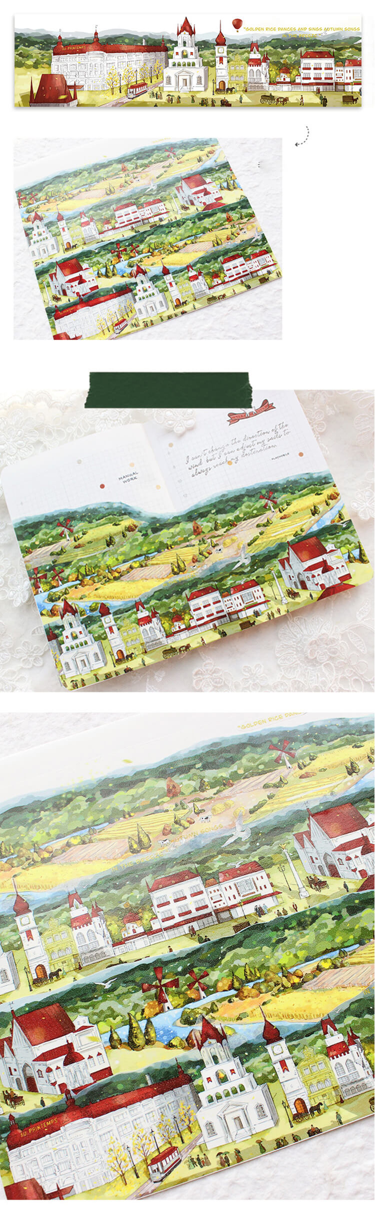 Small Town Washi Tape