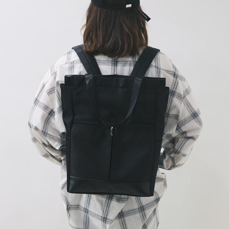 Large Capacity Water-proof Preppy Style Backpack