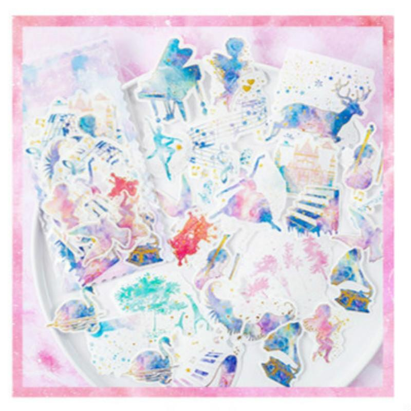 Girl's Supplication Series Deco Sticker KINIYO Stationery
